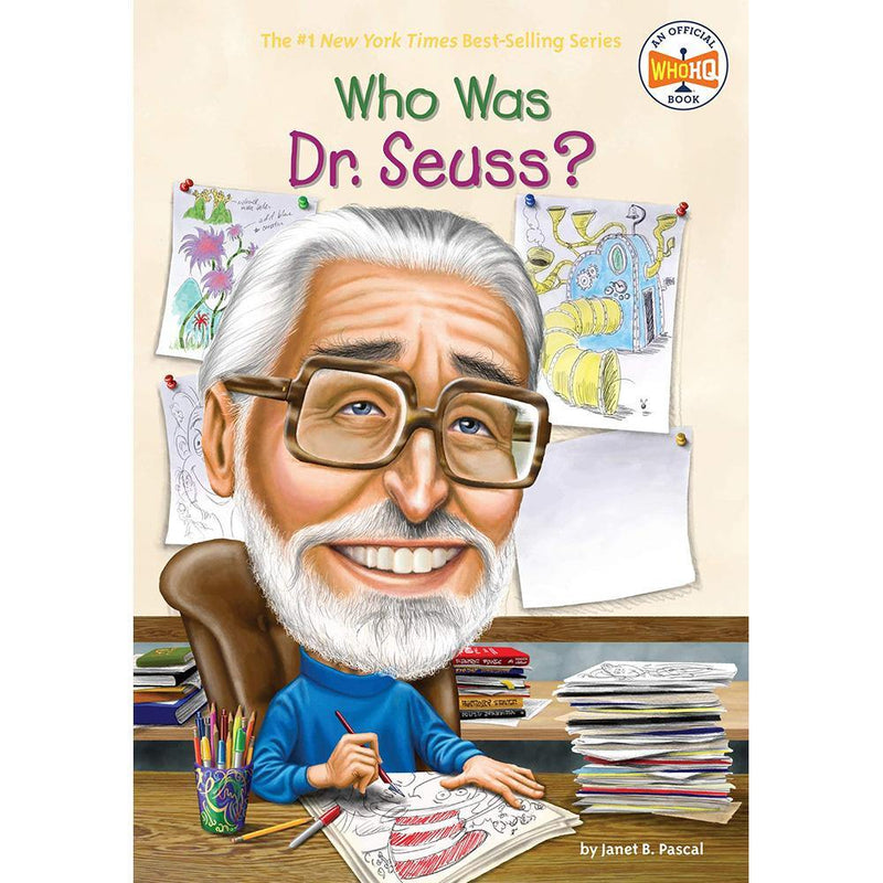 Who Was Dr. Seuss? (Who | What | Where Series)-BuyBookBook
