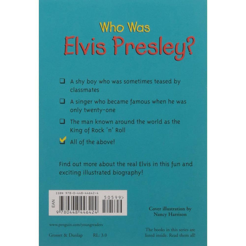 Who Was Elvis Presley? (Who | What | Where Series)-BuyBookBook