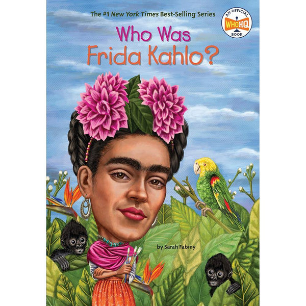 Who Was Frida Kahlo? (Who | What | Where Series)-BuyBookBook