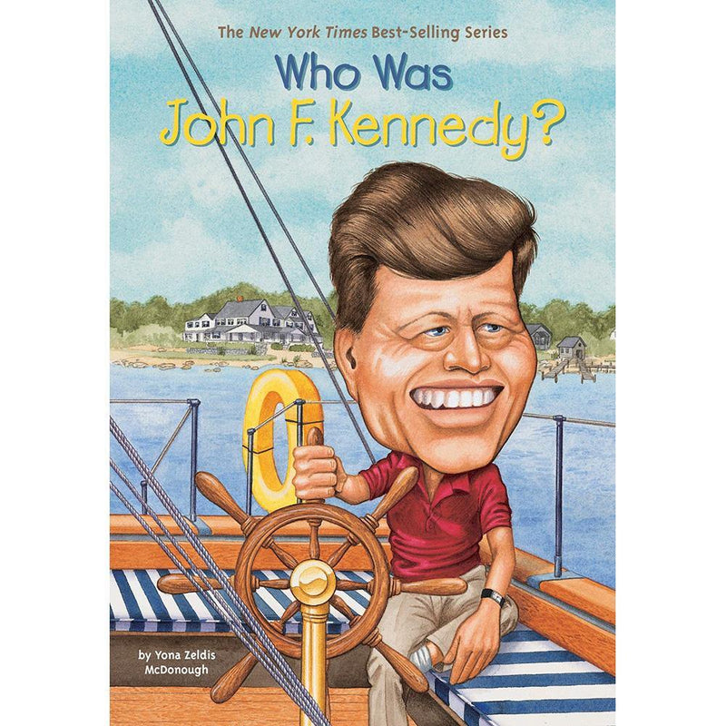 Who Was John F. Kennedy? (Who | What | Where Series)-BuyBookBook