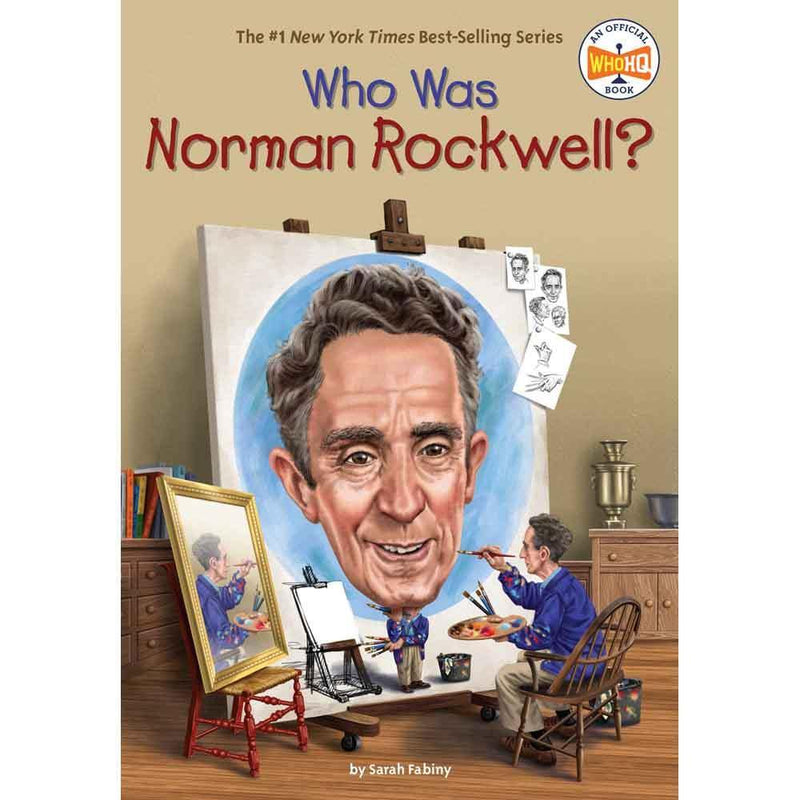 Who Was Norman Rockwell? (Who | What | Where Series)-BuyBookBook