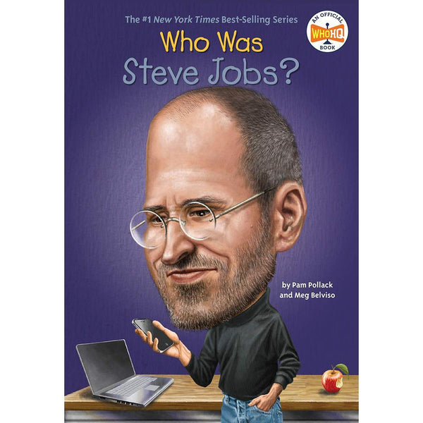 Who Was Steve Jobs? (Who | What | Where Series)-BuyBookBook