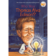 Who Was Thomas Alva Edison? (Who | What | Where Series)-BuyBookBook