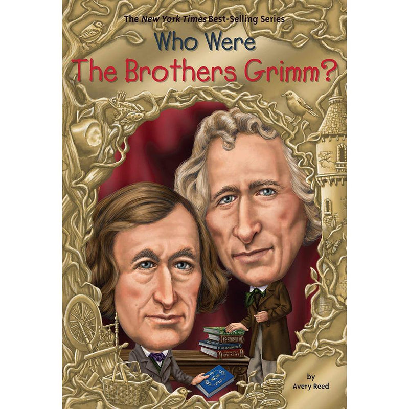 Who Were the Brothers Grimm? (Who | What | Where Series)-BuyBookBook