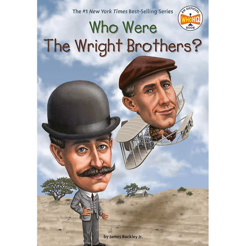 Who Were the Wright Brothers? (Who | What | Where Series)-BuyBookBook
