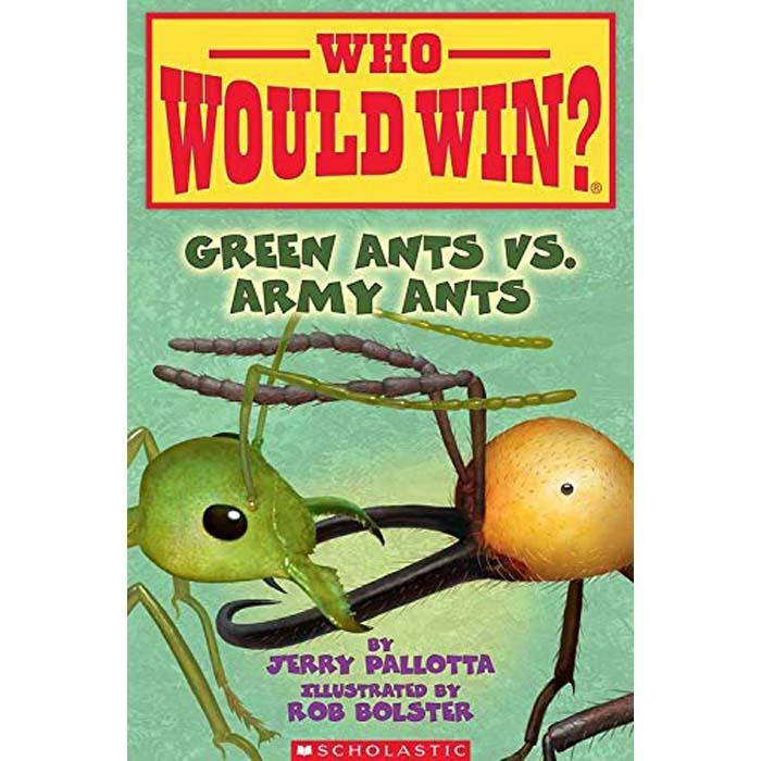 Who Would Win? Green Ants vs. Army Ants-BuyBookBook