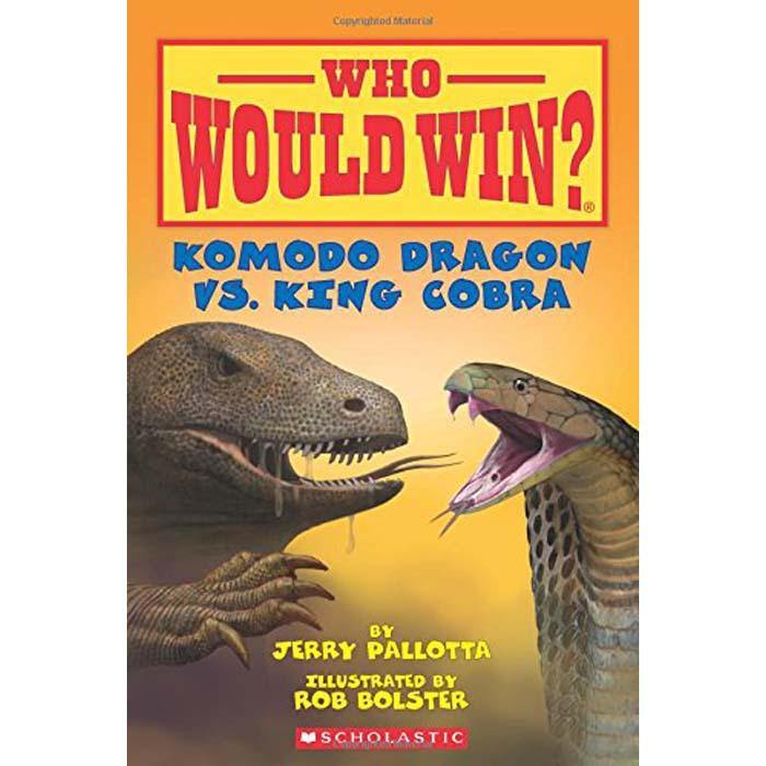Who Would Win? Komodo Dragon vs. King Cobra-BuyBookBook