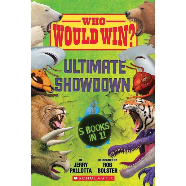 Who Would Win? Ultimate Showdown-BuyBookBook