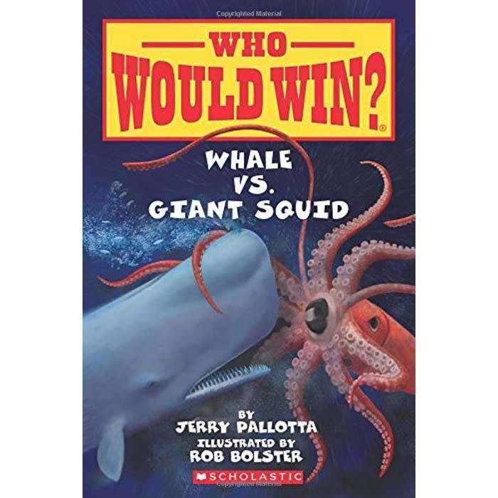 Who Would Win? Whale vs. Giant Squid-BuyBookBook