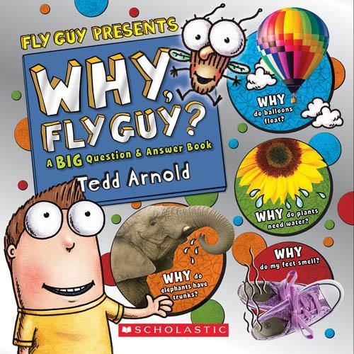 Fly Guy Presents: Why, Fly Guy? (Tedd Arnold)-BuyBookBook