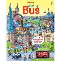 Usborne Wind-Up Bus Book with Slot-together Tracks-BuyBookBook