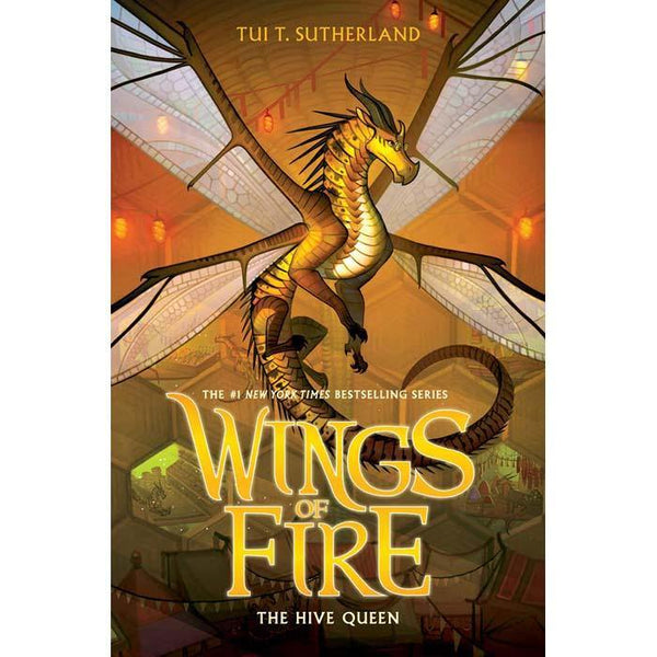 Wings of Fire #12 The Hive Queen (Paperback)-BuyBookBook