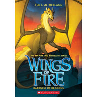 Wings of Fire #10 Darkness of Dragons-BuyBookBook