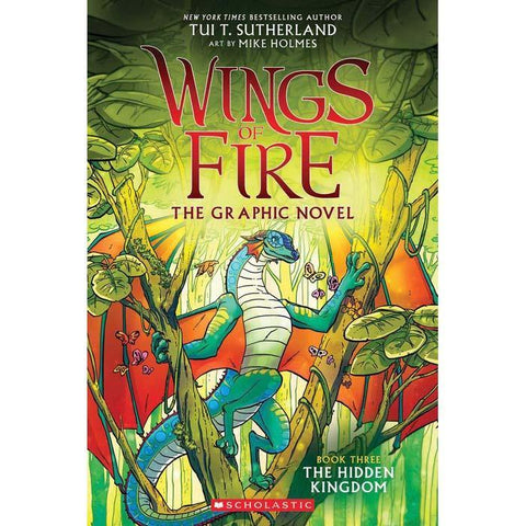 Wings of Fire Graphic Novel #03 The Hidden Kingdom-BuyBookBook