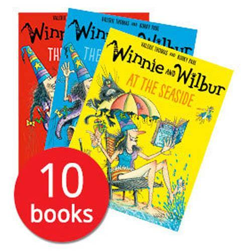 Winnie And Wilbur Collection (10 Books)-BuyBookBook