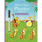 Usborne Wipe-clean phonics book 4-BuyBookBook