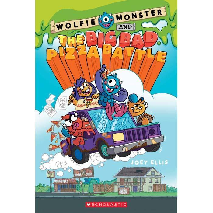 Wolfie Monster and the Big Bad Pizza Battle-BuyBookBook
