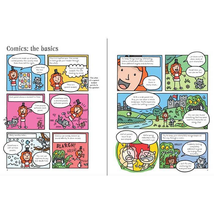 Write and Draw Your Own Comics-BuyBookBook