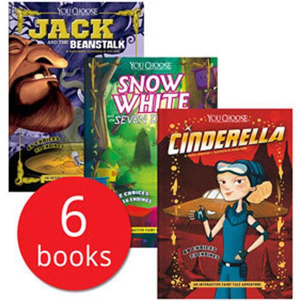 You Choose Fairy Tales Collection (6 Book)-BuyBookBook