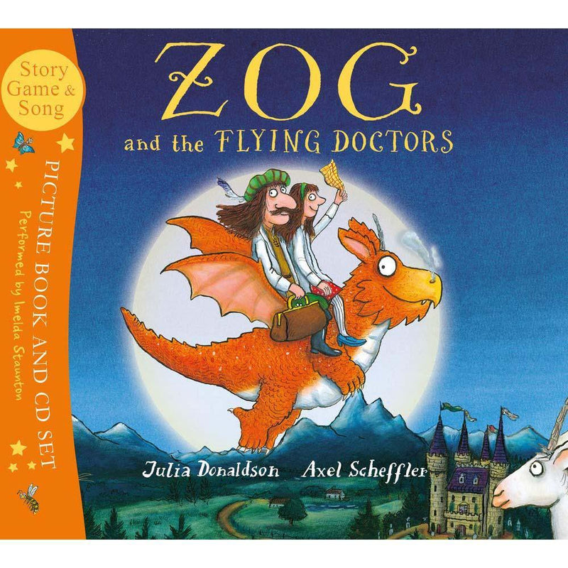 Zog and the Flying Doctors (Book with CD) (J. Donaldson)-BuyBookBook