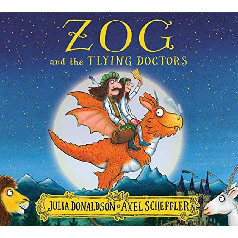 Zog and the Flying Doctors (J. Donaldson)-BuyBookBook