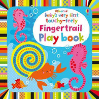 Baby's Very First Touchy-Feely Fingertrail Play Book-BuyBookBook