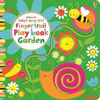 Baby's Very First Touchy-Feely Fingertrail Play Book Garden-BuyBookBook