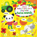 Baby's Very First Play Book Farm Words-BuyBookBook
