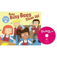 Cantata Learning Busy Busy Bees Clean Up! (Book + CD)-BuyBookBook