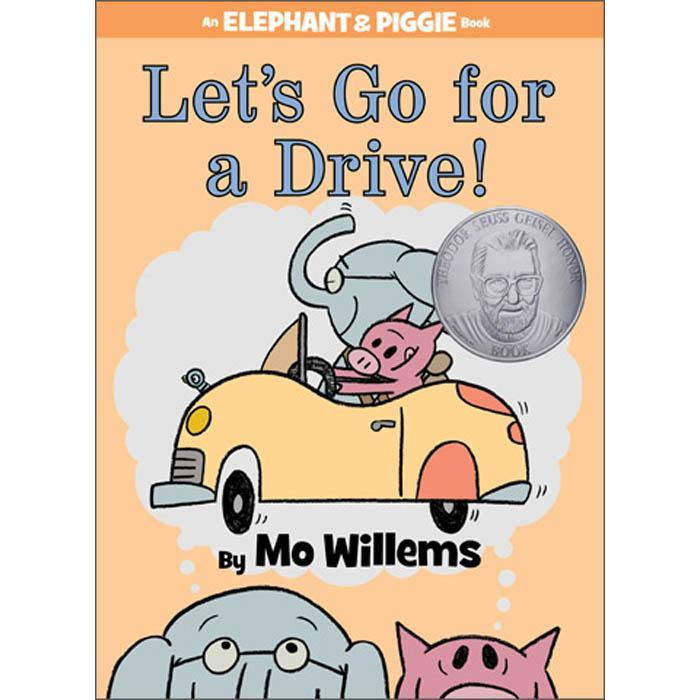 Elephant and Piggie Let's Go for a Drive! (Hardback) (Mo Willems)-BuyBookBook