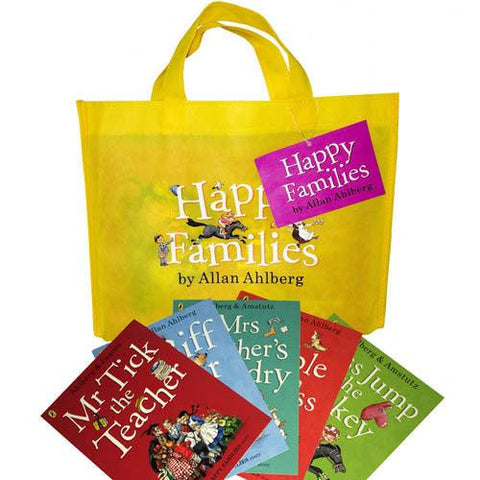 Happy Families Collection (10 Books)-BuyBookBook