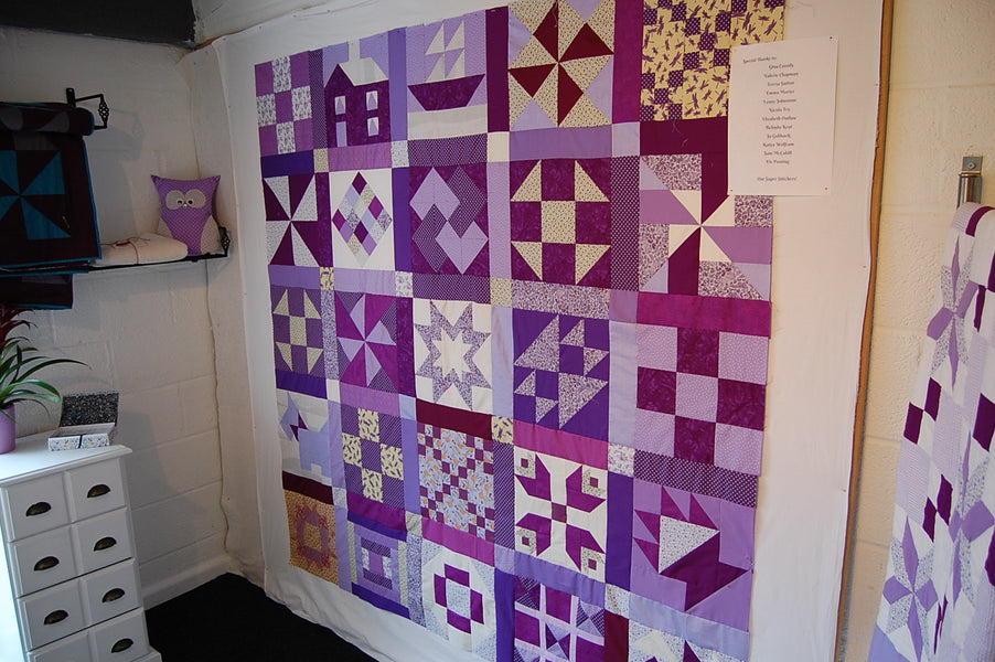 Fund Raising Has Started for Our Make May Purple Quilt