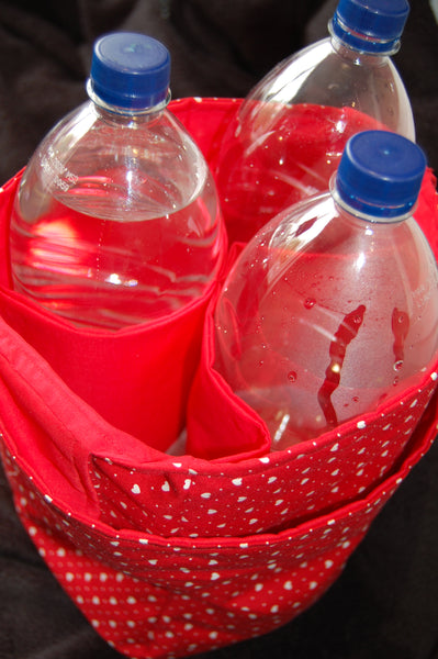 Have You Got the Bottle?!  Multi-Wine Bottle/Soft Drinks Carrier