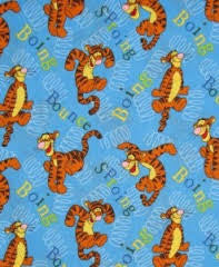 Disney Winnie the Pooh Tigger & Springs 'Boing Bounce' Blue
