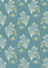 Lewis & Irene 'Home Sweet Home' Peacock Teal - Now £9.00 PM