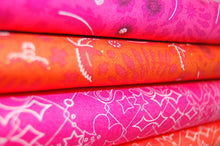 Fabric Shack Sewing Quilting Sew Fat Quarter Cotton Quilt Patchwork Dressmaking Alison Glass Andover Sun Prints Pink Amaranth
