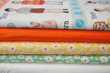 Fabric Shack Sewing Quilting Sew Fat Quarter Cotton Quilt Patchwork Dressmaking American Jane Moda Hop Skip & Jump Pin Polka Dots Orange Tangerine