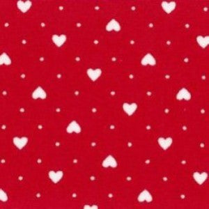 Rose & Hubble Hearts & Spots/Polka Dots Red