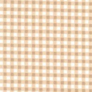 Rose & Hubble Mini Checks/Gingham Tan Light Brown