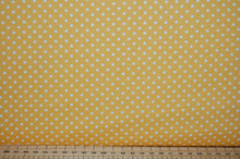 Fabric Shack Sewing Quilting Sew Fat Quarter Cotton Quilt Patchwork Dressmaking Rose & Hubble Poplin Polka Dot Spot 3mm Bright Yellow