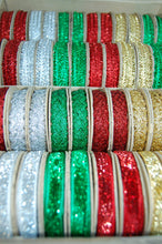 Fabric Shack Christmas Trim Ric Rac Ribbon Glitter Decoration Sparkly
