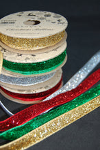 Fabric Shack Christmas Trim Ric Rac Ribbon Glitter Decoration Sparkly 5