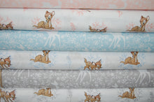 Fabric Shack Disney Bambi Thumper Sewing Quilting Sew Fat Quarter Cotton Deer Butterfly Pink