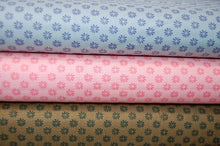 Fabric Shack Liberty English Garden Quilting Cotton Floral Dot Pink Blue Green Sewing Sew Fat Quarter