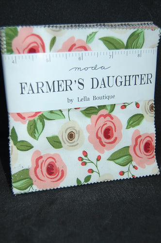 Fabric Shack Moda Farmers Daughter 5 Inch Charm Pack Lella Boutique Sewing Quilting Sew Quilt Cotton