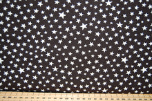 Fabric Shack Moda Modifications Stars Black Cotton Fat Quarter
