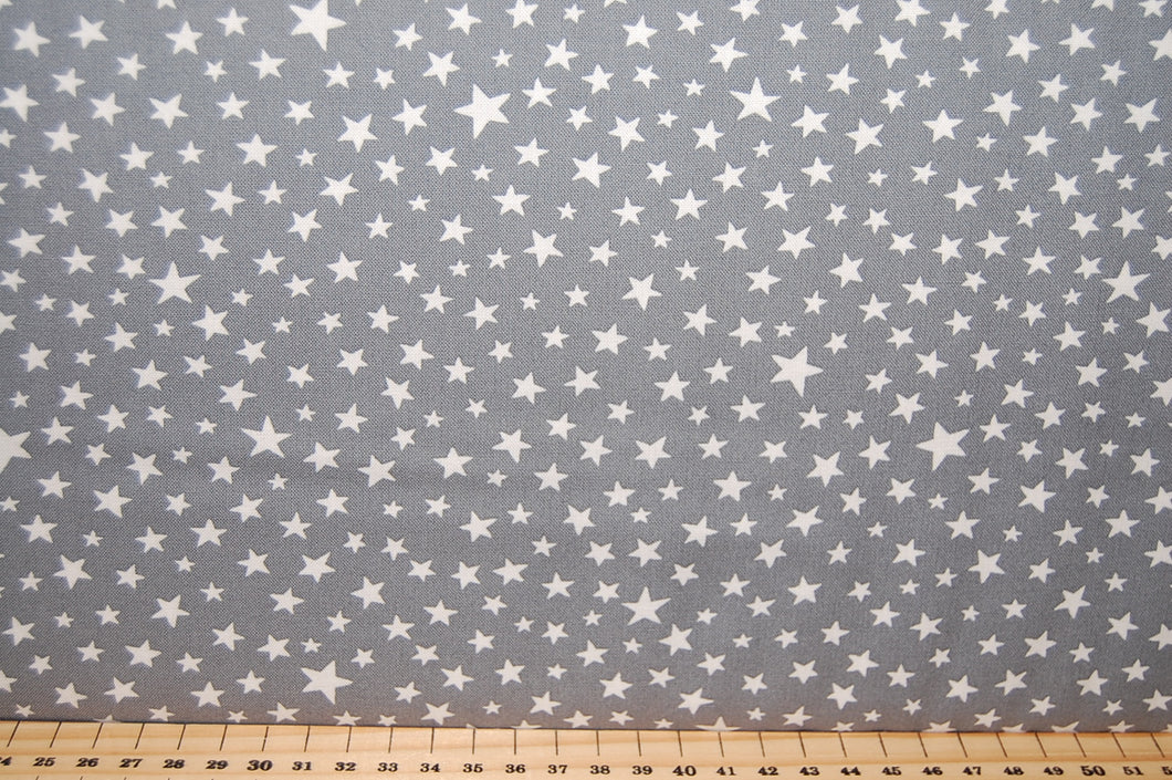 Fabric Shack Moda Modifications Stars Navy Blue Cotton Fat Quarter