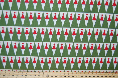 Fabric Shack Sandy Gervais Eat Drink & Be Ugly Christmas Jumper Sweater Panel Bunting Festive Bunting Reindeer Heart Jumper Bauble Santa Father Wreath Tree Cotton Fat Quarter Pack