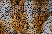 Fabric Shack Sewing Quilitng Sew Fat Quarter Cotton Polyester Quilt Patchwork Dressmaking Faux Fake Fur Velboa Valboa Snow Leopard Tiger Giraffe Cow Dalmation Dalmatian Brown White Short Pile