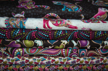Fabric Shack Sewing Quilting Sew Fat Quarter Cotton Patchwork Dressmaking Cat I Tude Catitude Ann Lauer Grizzly Gulch Galleries Metallic Black Beaded Cats Pussy Egyptian Siamese Beads Swirls Hearts Paisl (5)